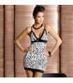 Leopard elastic dress