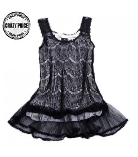 Lace leisure dress