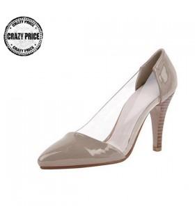 Trasparente scarpe moderne