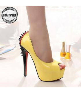 Fancy high heels shoes