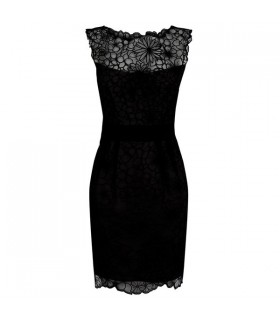 Special floral lace dress