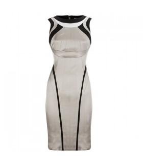 Spezielle passende Form satin Kleid