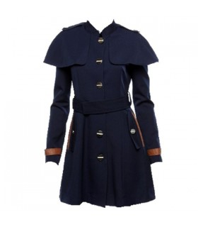 English style cloak coat