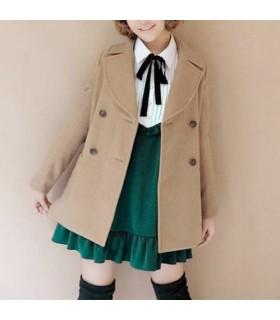 Einfache warmen Mantel lässig