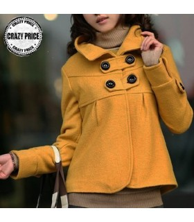 Short young style coat