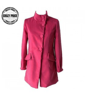 Pink leisure style coat