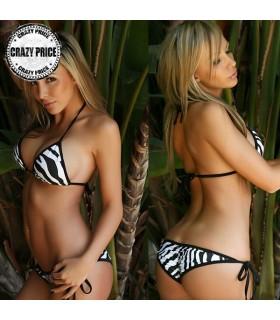 Zebramuster Bikini