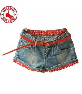 Étoiles jeans court