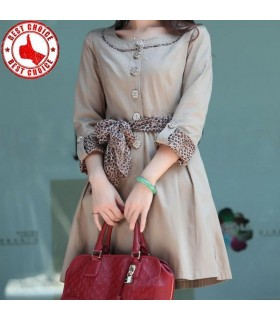 Elegant fashion trench coat