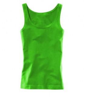 Semplice top verde