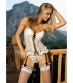 White sexy corset-lingerie