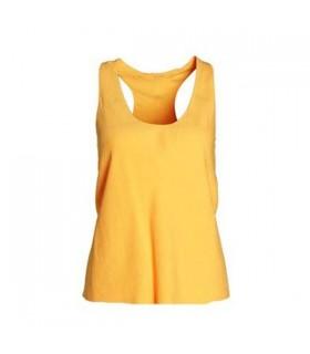 Einfaches gelbes Top