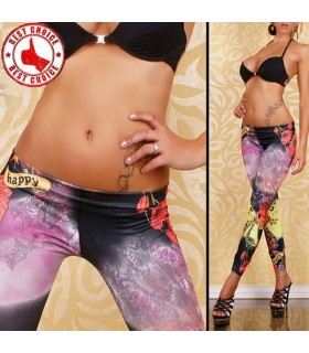 Fresh color slim leggings