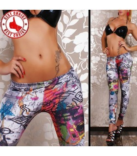 Urban grafitti leggings