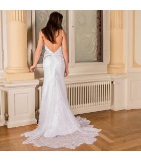 Besonderes Spitzen Meerjungfrau sexy Hochzeitskleid
