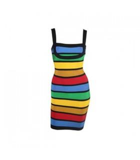Bandage robe de couleur