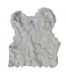 Vintage embellished vest
