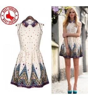Französisch chic Stil sexy Kleid