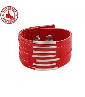 Tassel bracelet rouge
