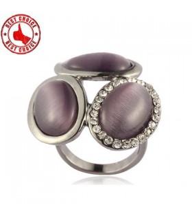 Silbereinlegearbeit-Ringe