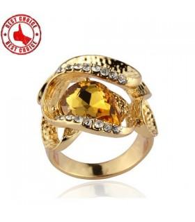 Anneau de pierre gemme or