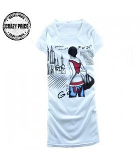 Ragazza casual t-shirt