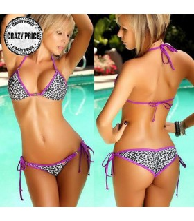 Animal Print Badeanzug Bikini