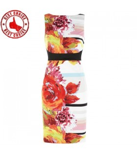 Floral print special dress