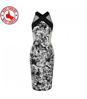 Super sexy Neckholder-Kleid elegant