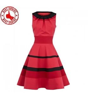 Plissee Mode Kleid