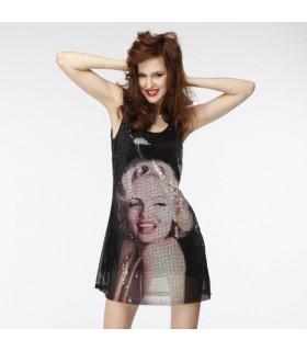 Moda Merilyn Monroe abito di paillette
