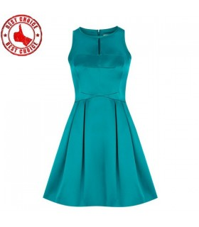 Turquoise chic dress