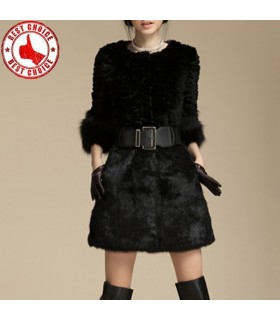 Gorgeous black fur coat