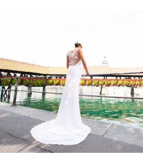 Sexy romantische Hochzeitskleid