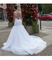 Lacet de sirène splendide robe de mariée sexy