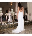 Aimant de compliments la robe de mariée sexy