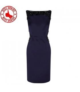 Glamouröse blau elegante Kleid