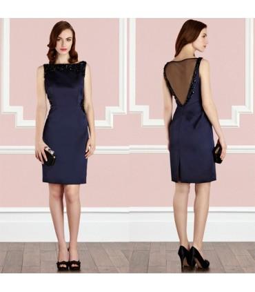 brand new b7499 3130c Glamour abito elegante blu