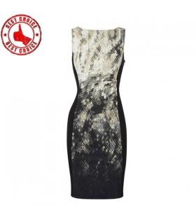 Schlange Muster Kleid