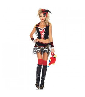 Super sexy pirate girl costume