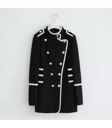 new concept ab2d3 e35dc Moda cappotto doppio petto