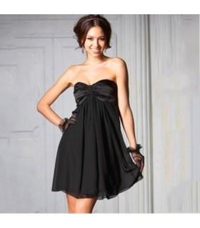 Elegante abito nero sexy