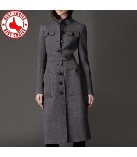 Cappotto lana capispalla soprabito di cashmere