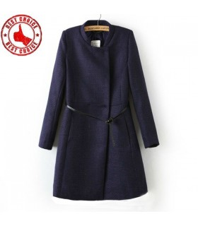 Moda abbigliamento esterno donna cappotto