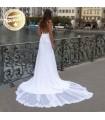 Vintage sweetheart sexy wedding dress