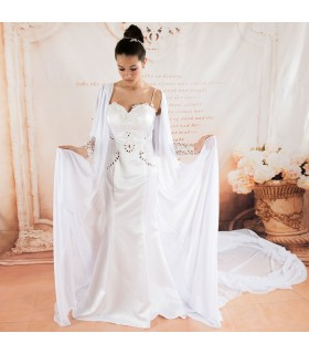 Robe de mariée exotique sexy formidable