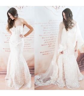 Ivoire de cap absolu robe de mariée sexy