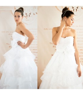 A-line chic princess sexy wedding dress