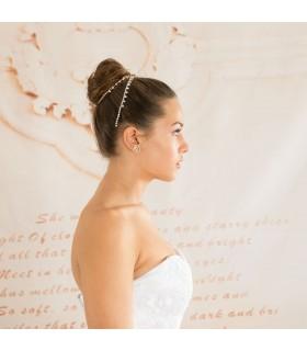 Meerjungfrau peplum Schnürsenkel erotisches Hochzeitskleid
