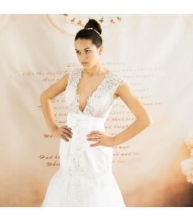 Forme de sirène étonnante robe de mariée sexy